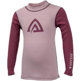 Aclima WarmWool - Sous-vêtement Enfant - rose